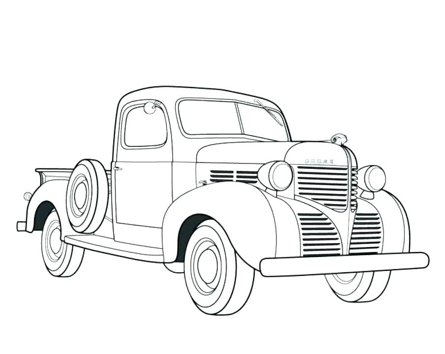 905x719 Classic Car Coloring Pag Cute Classic Car Coloring Pages