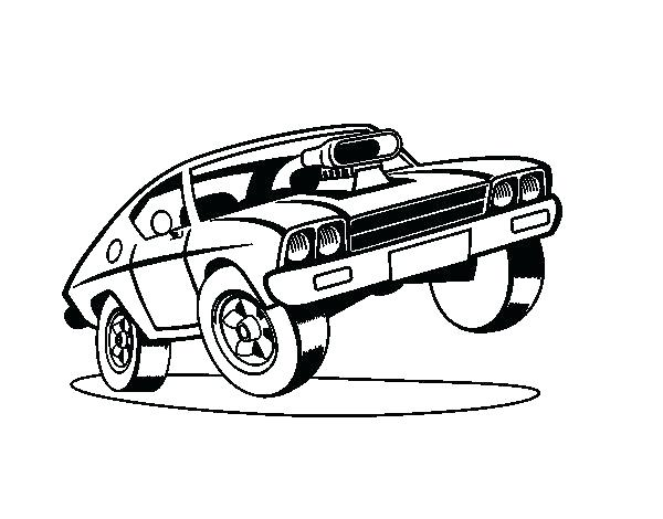 600x470 Coloring Pages Of Muscle Cars Muscle Car Coloring Pages Muscle Car