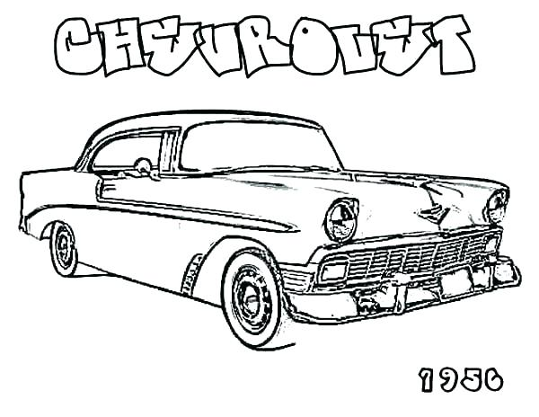 600x464 Muscle Car Coloring Pages Old Car Coloring Pages As Well As This