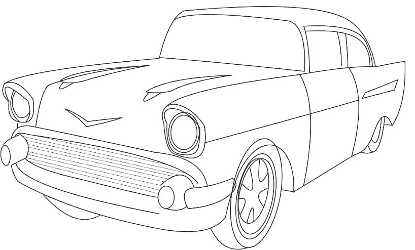 818x494 Old School Cars Coloring Pages Muscle Cars Coloring Pages Car