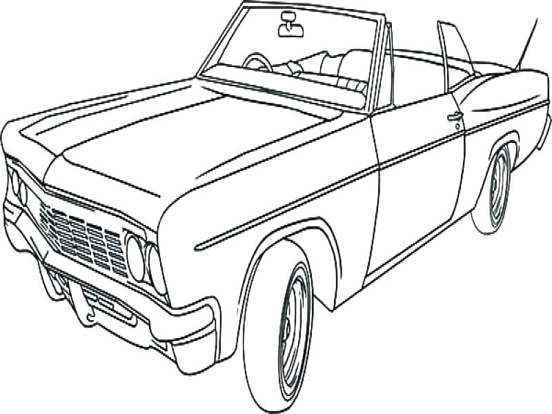 800x600 Classic Cars Coloring Pages Muscle Car Coloring Book Also Classic