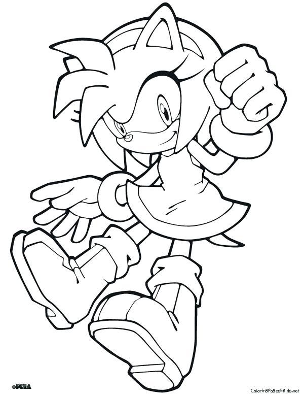 600x782 Sonic Color Pages Classic Sonic Coloring Pages Sonic Boom Tails