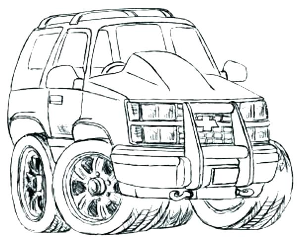 600x488 Coloring Pages Chevrolet Truck Coloring Pages Truck Coloring