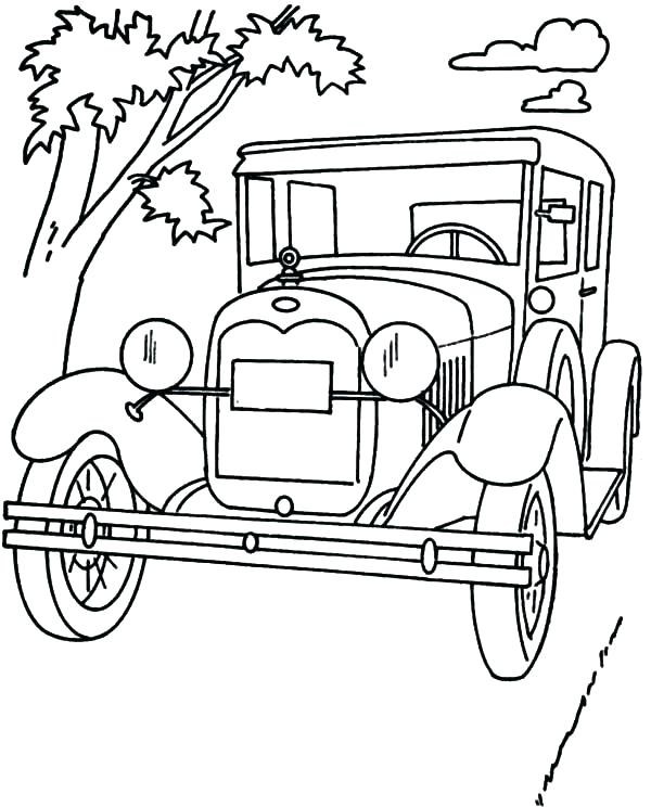 600x744 Ford Coloring Pages Coloring Pages Truck Coloring Book Truck