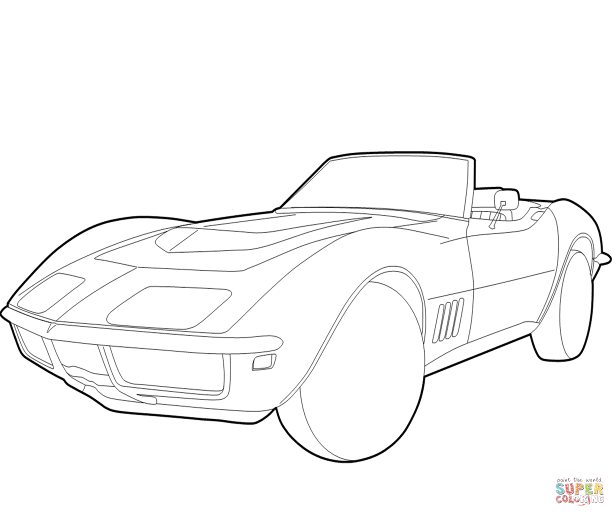 1224x1032 Camaro Coloring Pages Printable Of Chevy For Adults Camaros Trucks