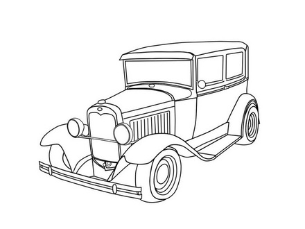 440x330 Pick Up Truck Coloring Pages Coloring Home, Old Truck Coloring