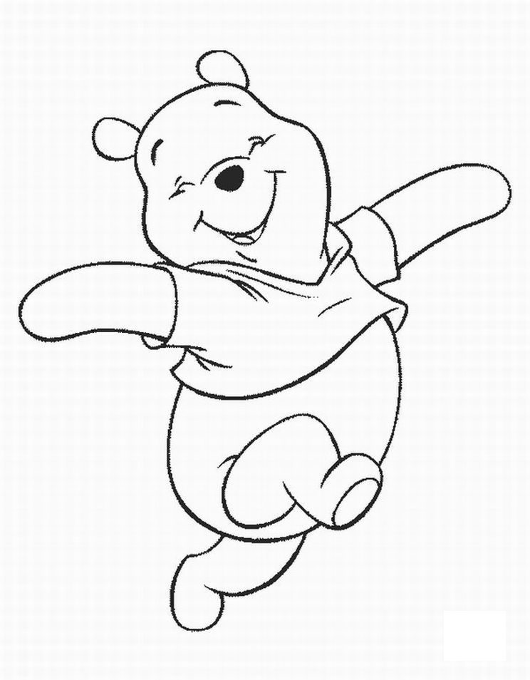744x954 Free Printable Winnie The Pooh Coloring Pages For Kids Bears