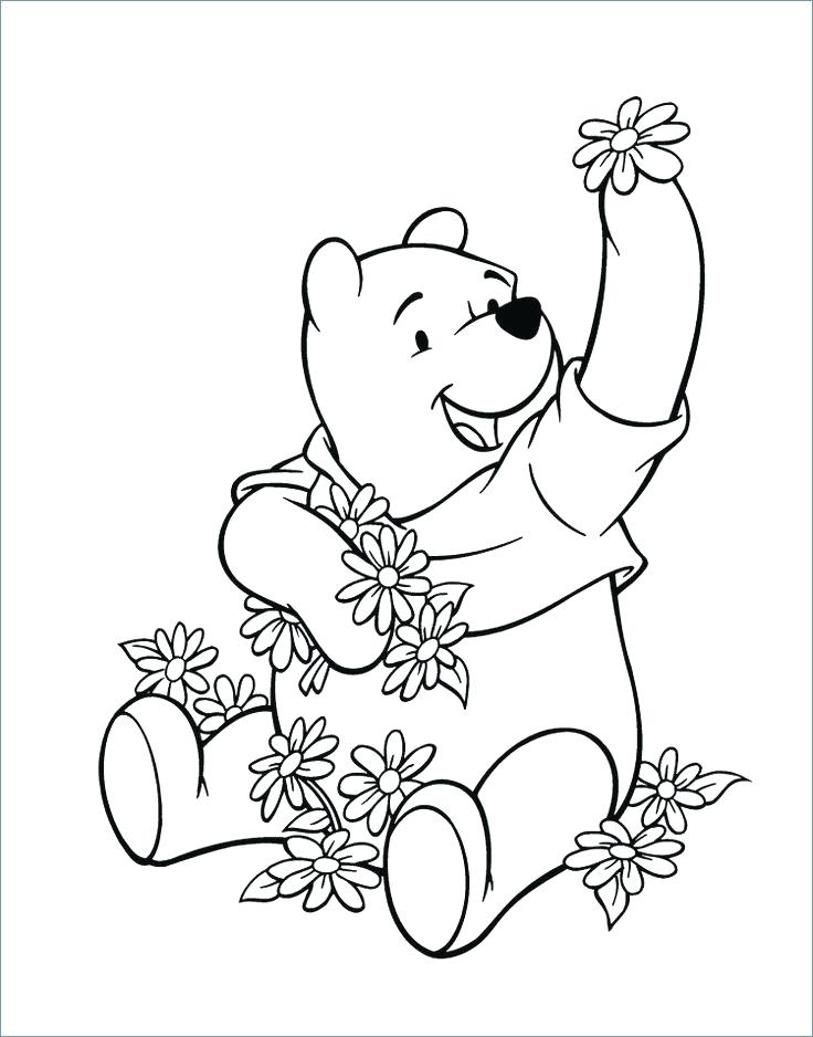 736x938 Piglet Pooh And Egg Coloring Page Winnie The Pooh Easter Coloring