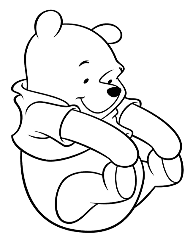 650x826 Awesome Winnie The Pooh Color Pages About Remodel Coloring