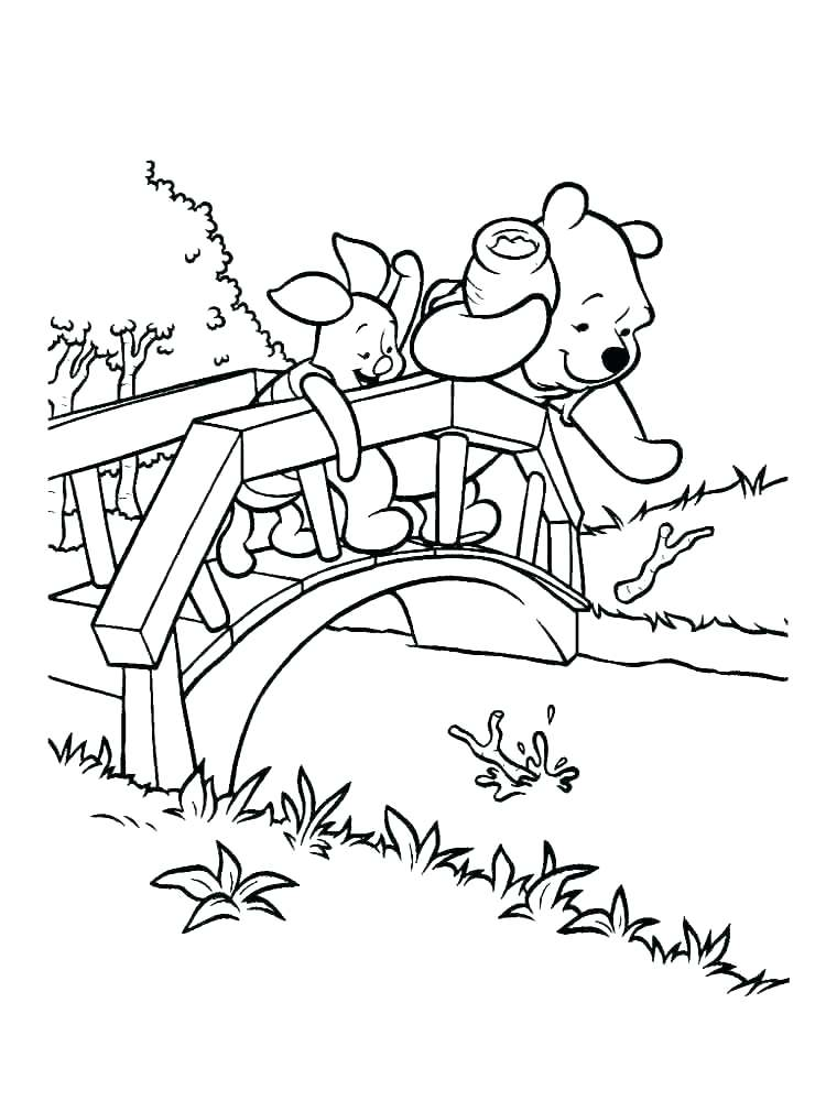 750x1000 Classic Winnie The Pooh Coloring Pages