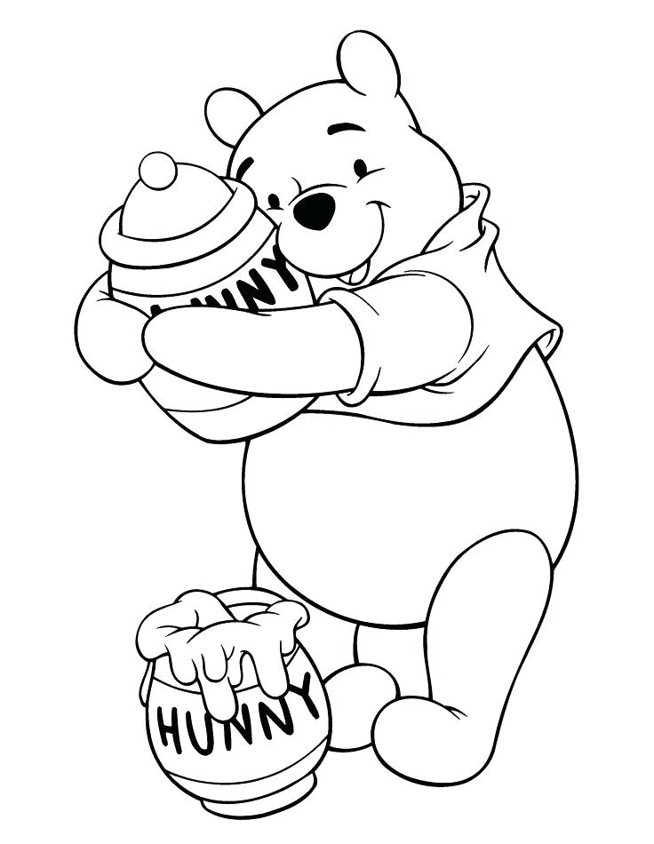 736x950 Winnie The Pooh Coloring