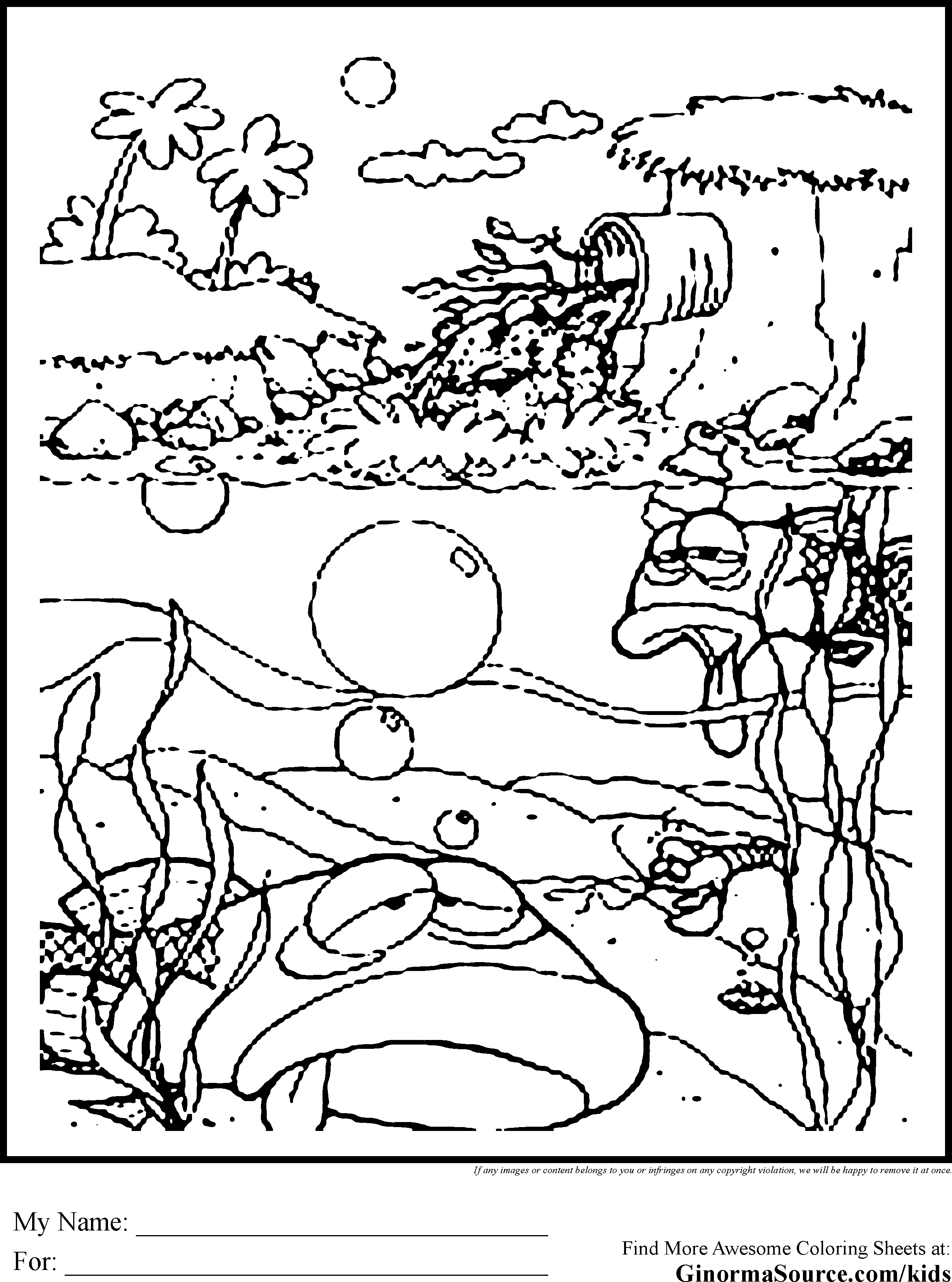 2459x3310 Cool And Opulent Hawaii Coloring Pages Download