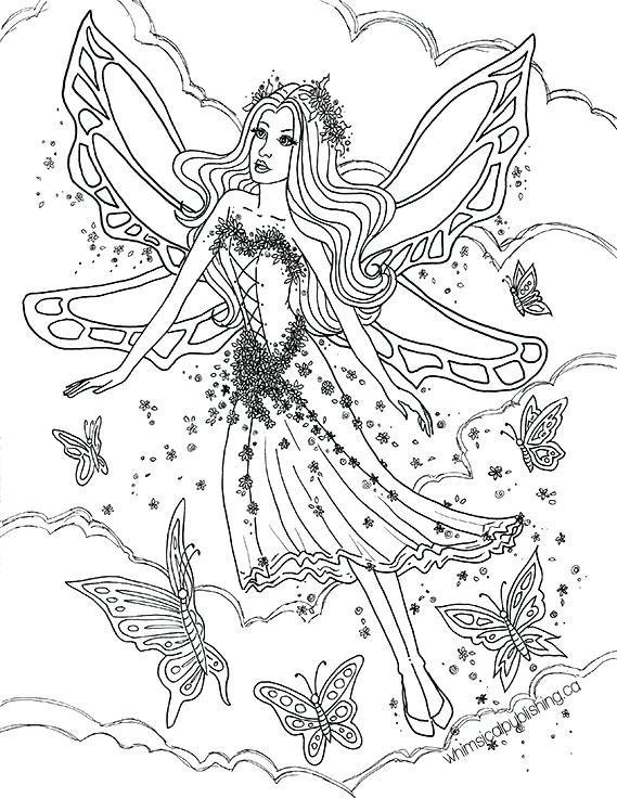 569x736 Fairies Coloring Book Clean Up Pencil