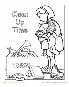 236x296 Free Printable Coloring Page To Teach Kids About Hygiene Germs