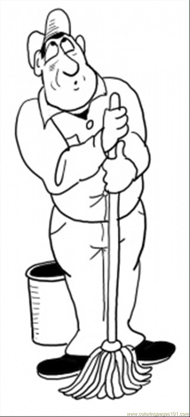 650x1421 Cleaner Coloring Page