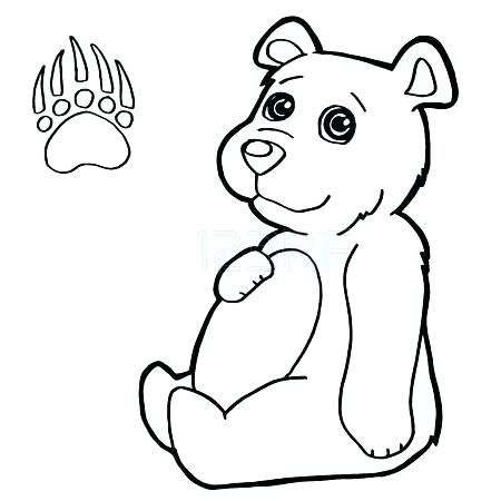 450x450 Tiger Paw Print Coloring Page Free Printable Pages Click To See