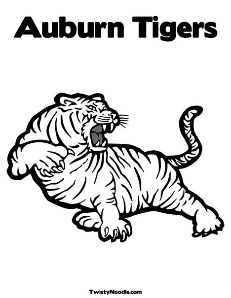 Clemson Football Coloring Pages