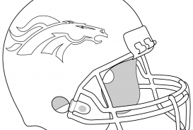273x183 Football Helmet Coloring Pages To Print Michigan Steelers Page Nfl