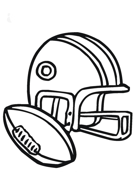 468x588 Football Helmet Trendy Coloring Pages