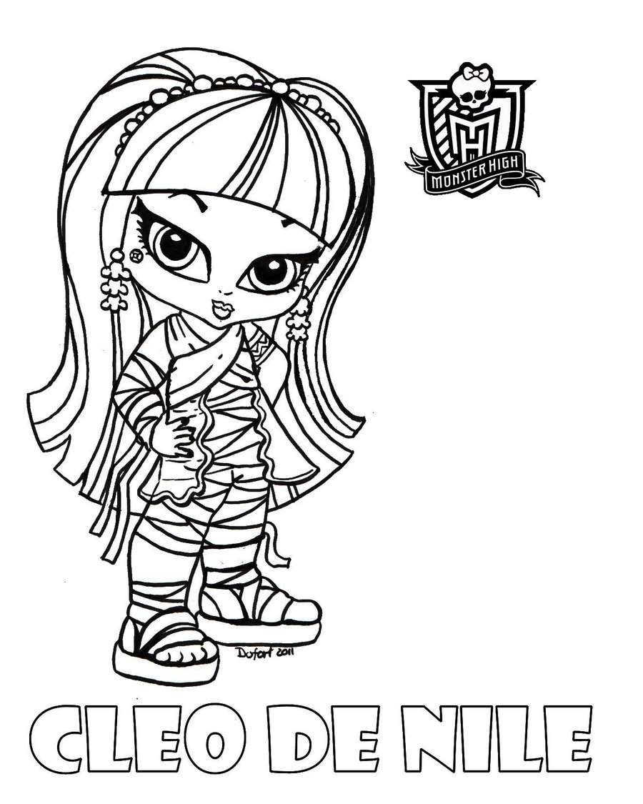 Cleo Coloring Pages