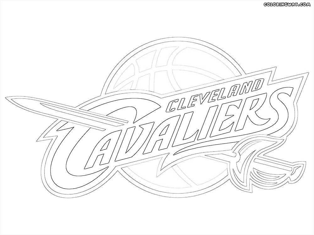 Cleveland Cavaliers Coloring Pages