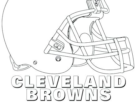 440x330 Cleveland Browns Coloring Pages Browns Coloring Pages Browns