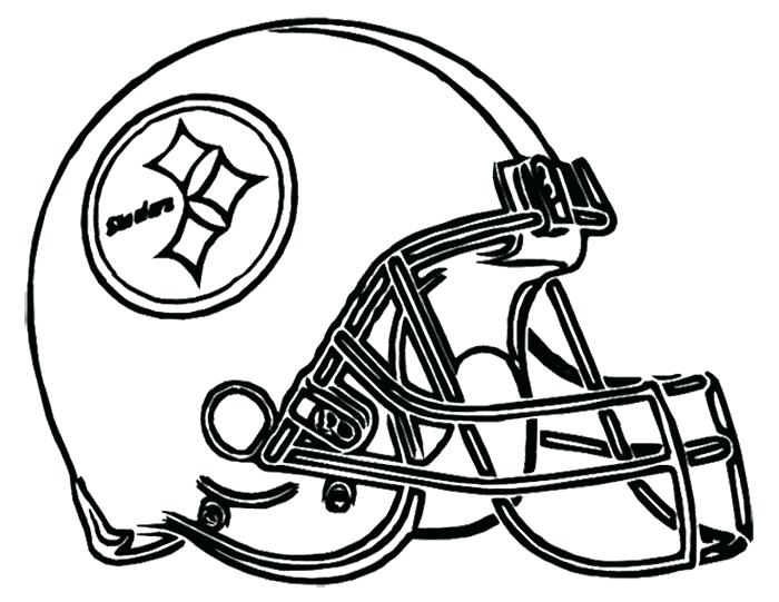 700x541 Cleveland Browns Coloring Pages Football Helmet Page Logo