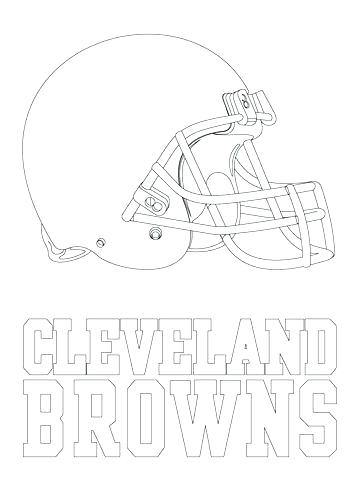 360x480 Cleveland Browns Coloring Pages Sports Coloring Book And Sports