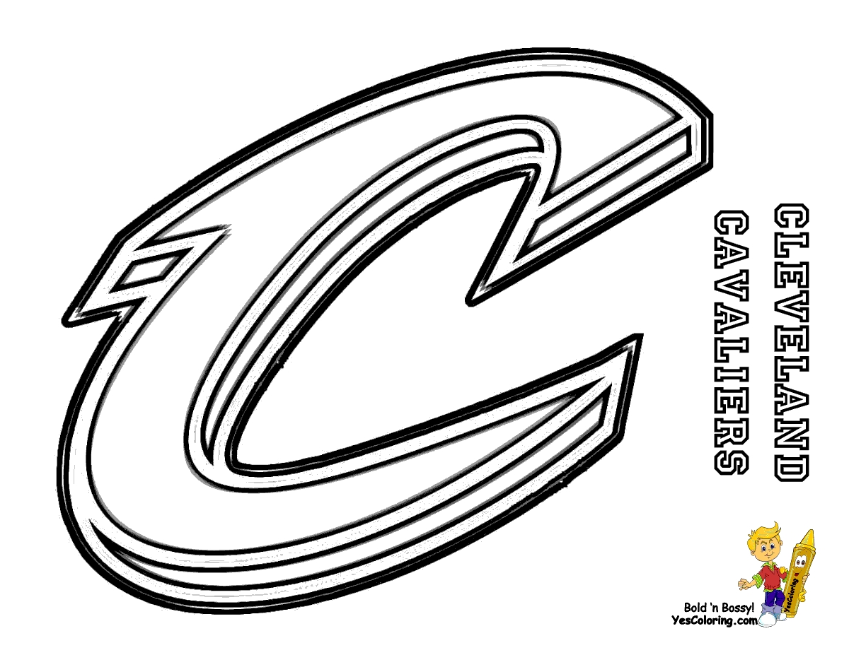1200x927 Cavs Coloring Pages Printable Free Coloring Pages