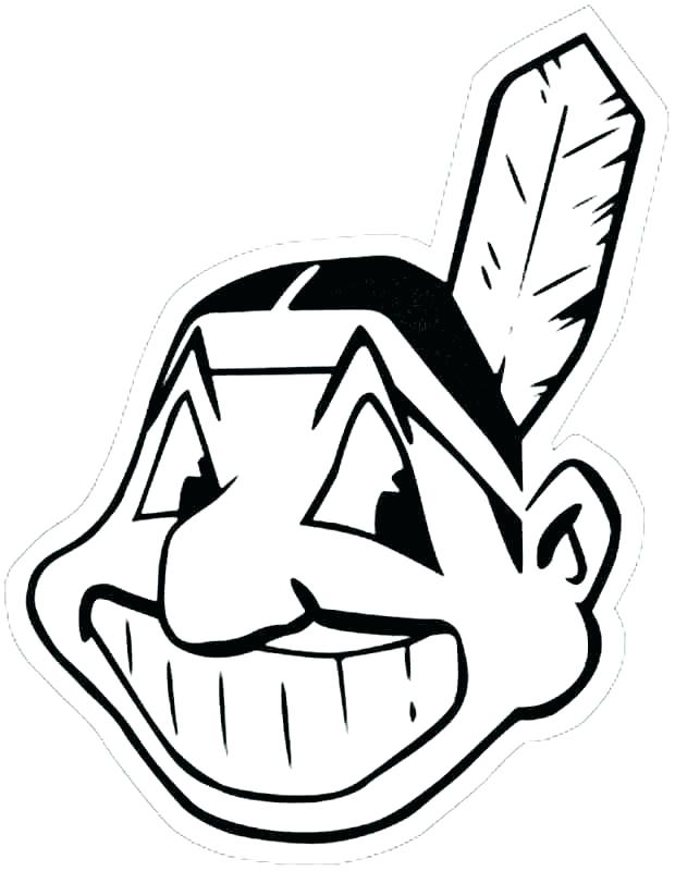 620x800 Cleveland Sports Coloring Book Cool Coloring Pages Teams Logos