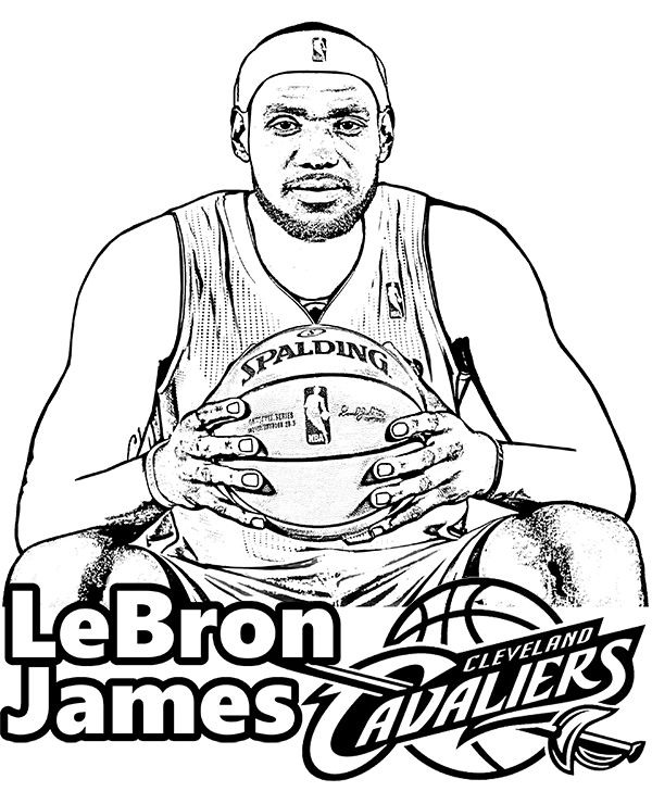 Cleveland Cavaliers Logo Coloring Pages At Getdrawings Com Free