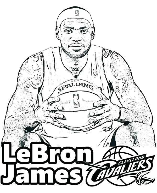 600x740 Nba Players Coloring Pages Coloring Book Also Coloring Pages