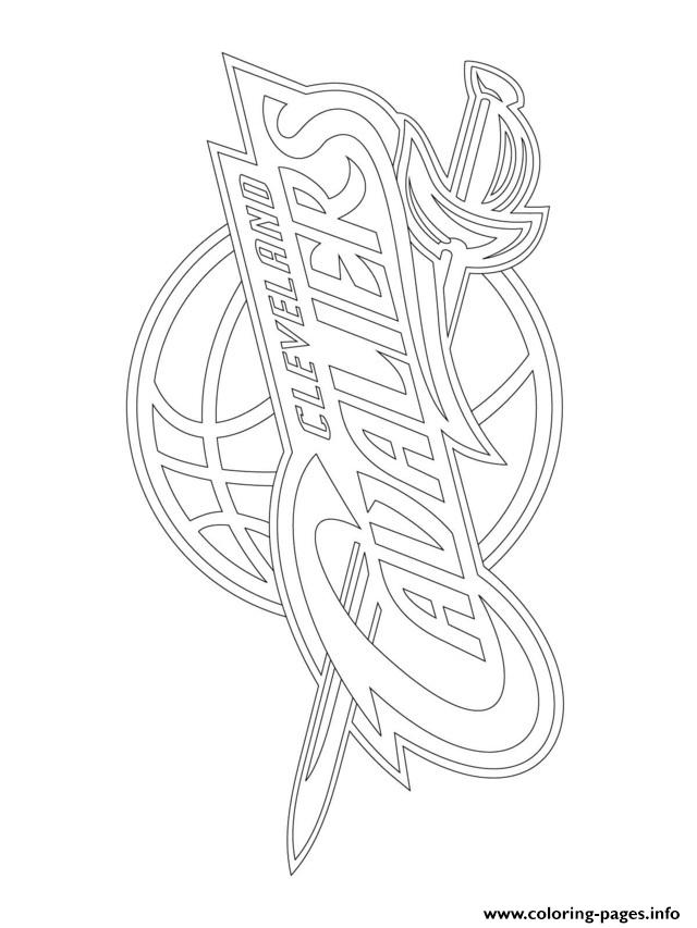 640x853 Cleveland Cavaliers Logo Nba Sport Coloring Pages Printable