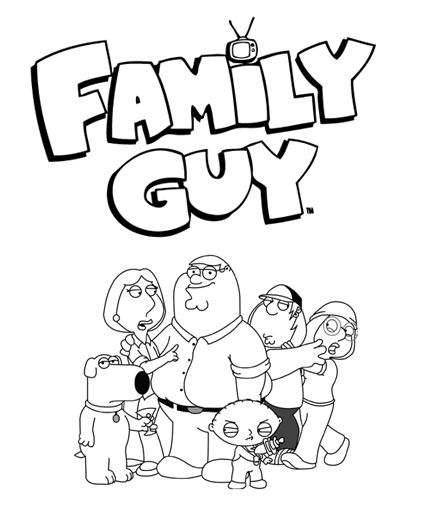Cleveland Show Coloring Pages