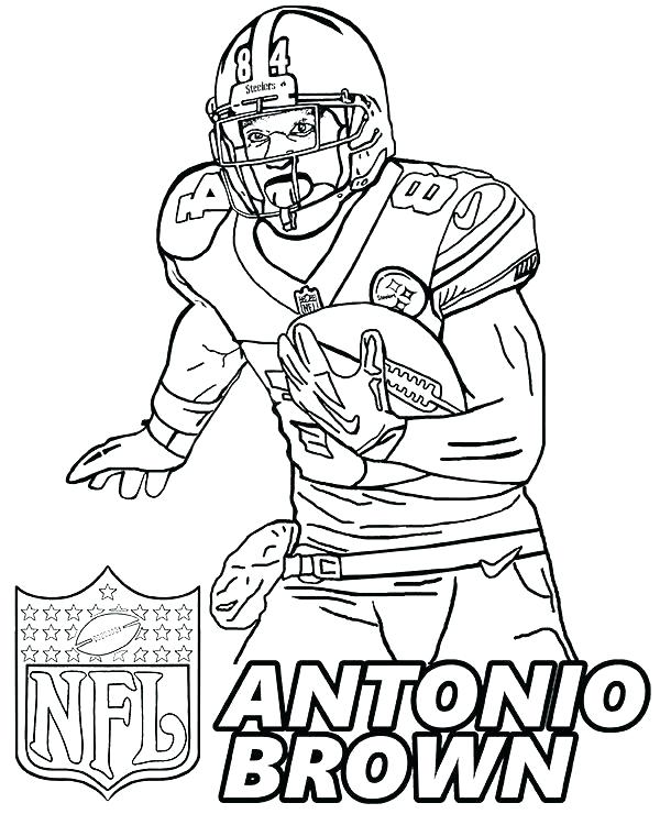 600x740 Cleveland Browns Coloring Pages The Show Coloring Pages Ideas