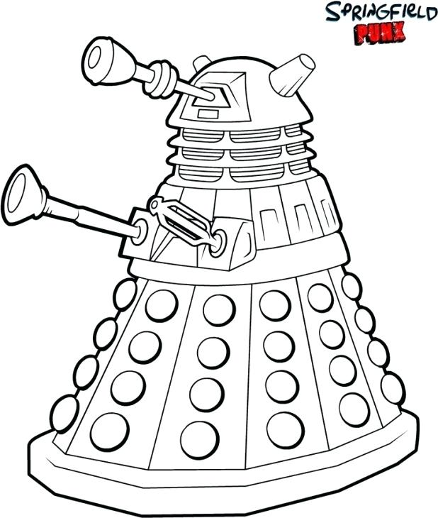 618x730 Cleveland Show Coloring Pages Coloring Pages Doctor Who