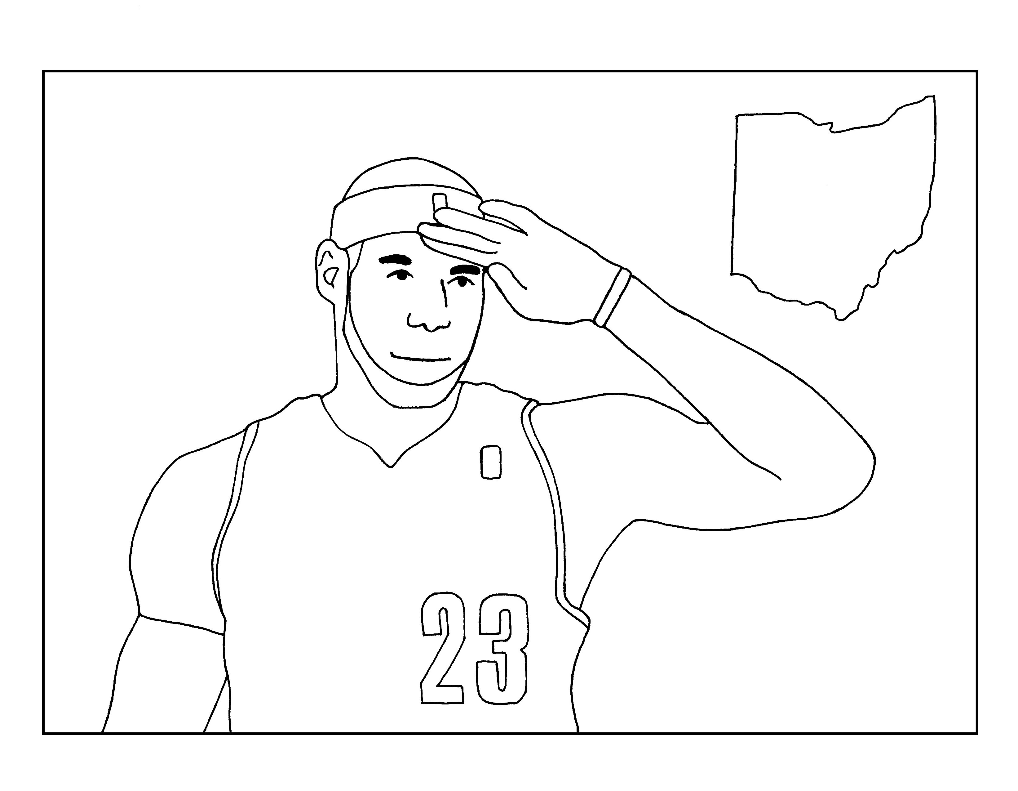 3284x2550 Outstanding Cavs Coloring Pages Kyrie Irving