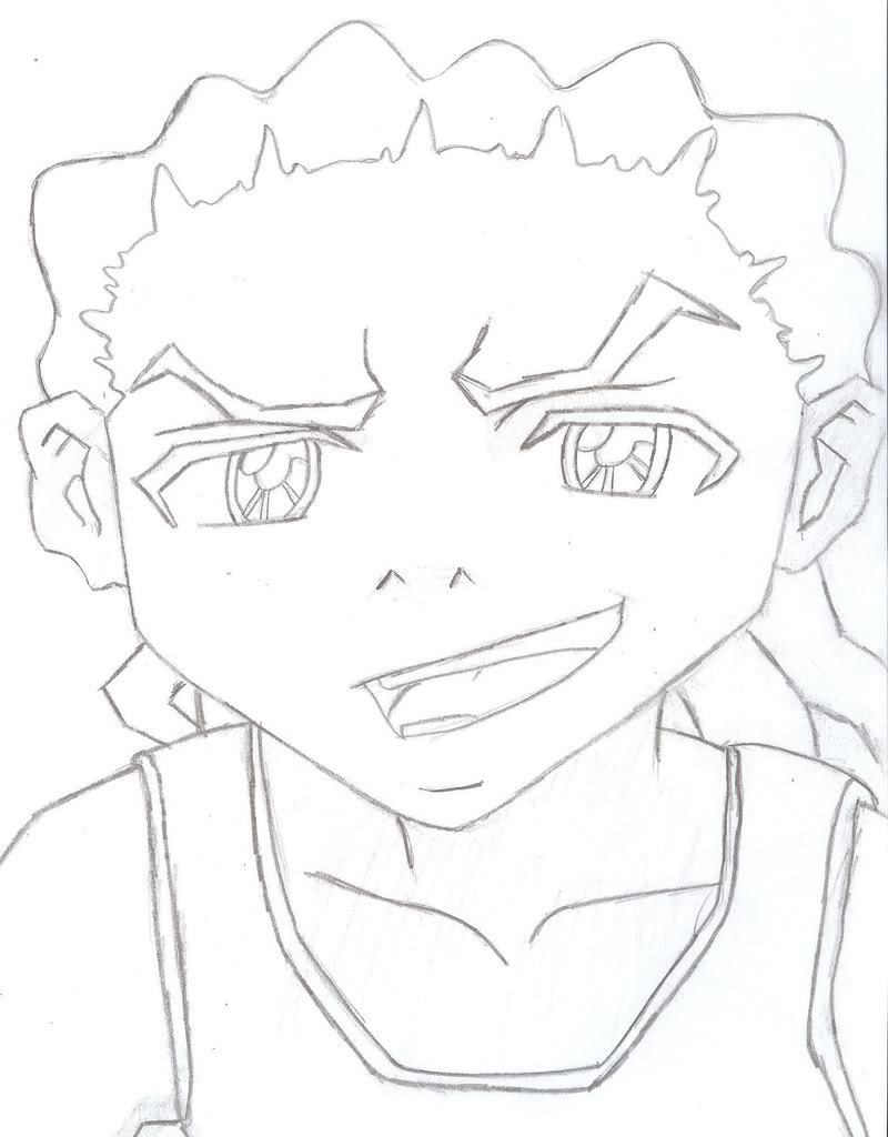 800x1024 Shocking Boondocks Coloring Book Miss Adewa Image For Cleveland