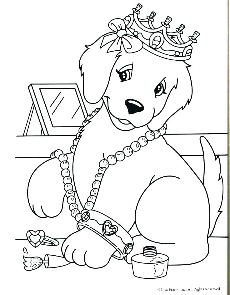 736x943 Golden Retriever Coloring Pages