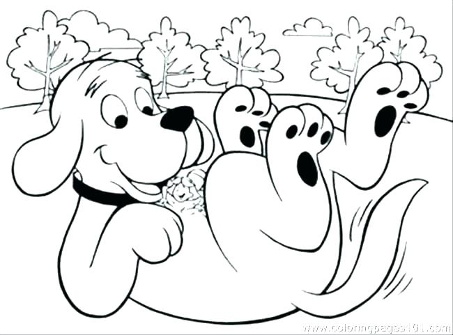 650x481 Clifford Coloring Pages Free Coloring Page Coloring Pages Free
