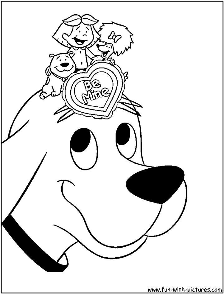 720x945 Clifford Coloring Pages Coloring Pages Kids