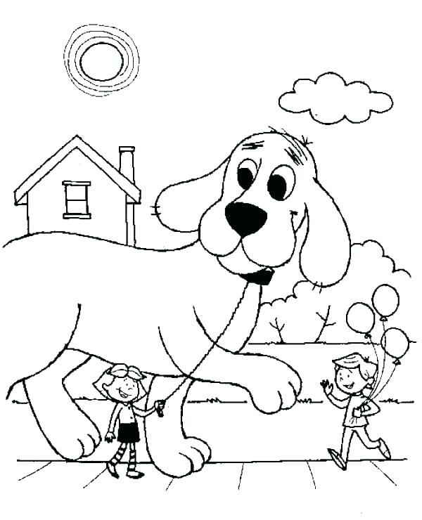 600x740 Clifford Coloring Sheets Coloring Pages Coloring Pages Coloring