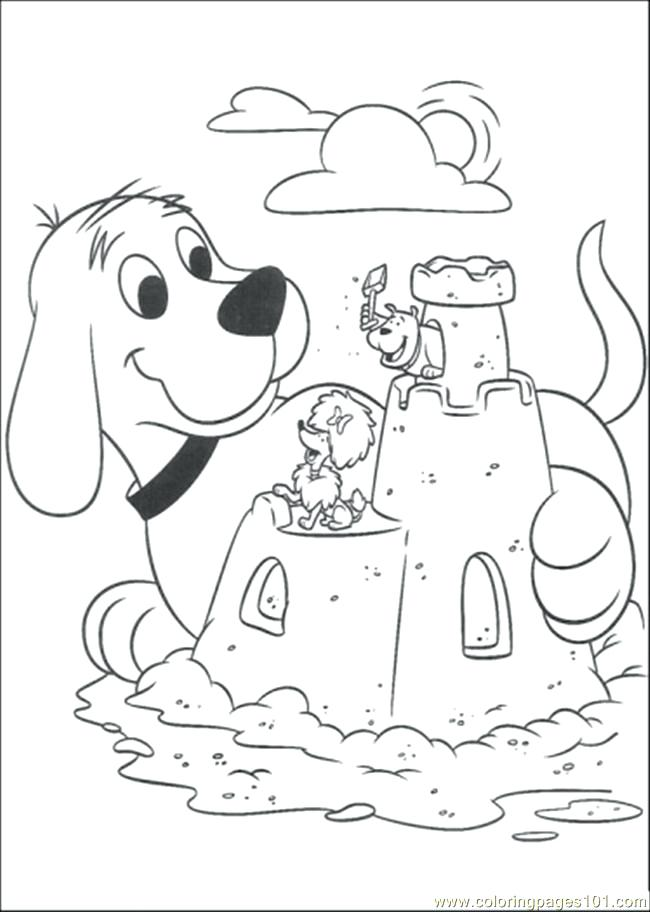650x912 Astonishing Clifford Coloring Page Colouring For Tiny Clifford