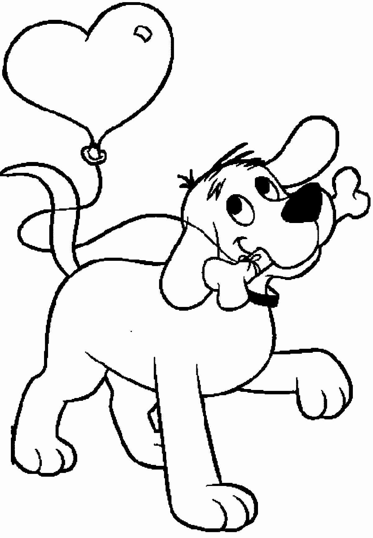 1203x1737 Clifford The Big Red Dog Coloring Pages Printable Page Fine