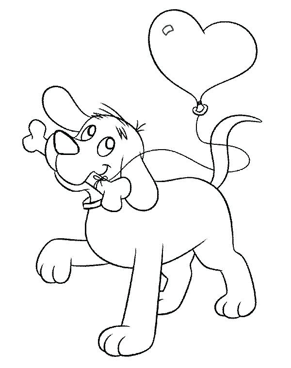 600x760 Clifford Big Red Dog Coloring Pages Printable The Normal Page