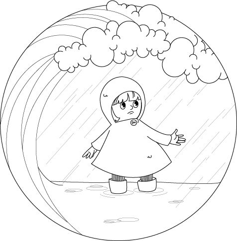 476x485 Climate Change Coloring Page Signs Sea