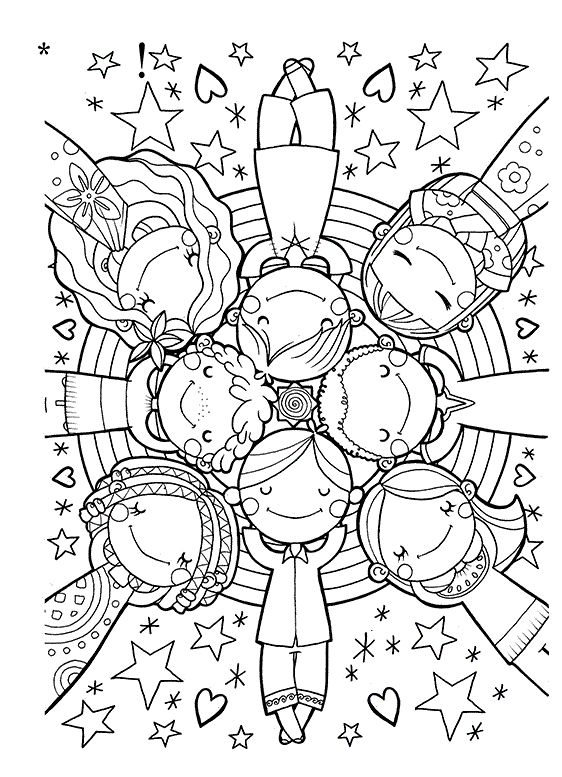 562x777 Best Clip Artcolouring Images On Coloring Pages