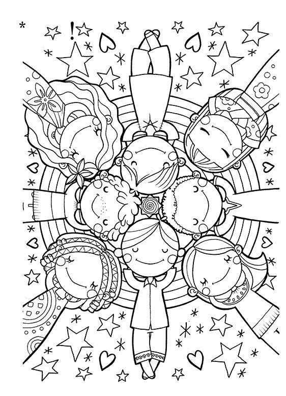 Clip Art Coloring Pages