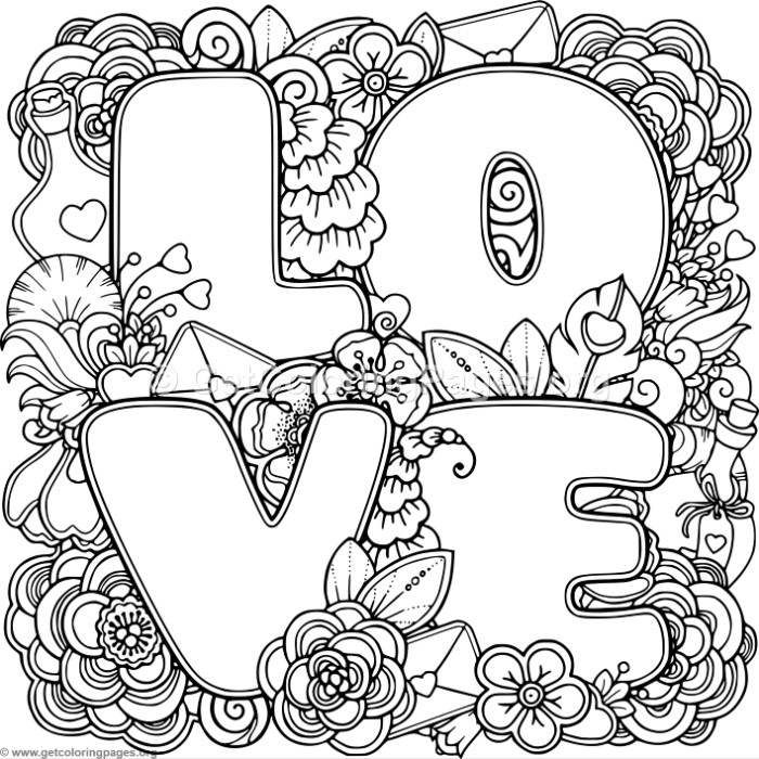 700x700 Free Downloads Love Zentangle Art Coloring Pages