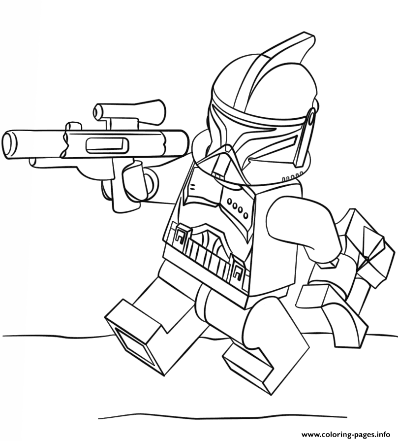 809x895 Print Lego Clone Trooper Coloring Pages Lego Lego